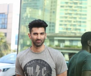Actor Aditya Roy Kapoor at the promotions of film Malang