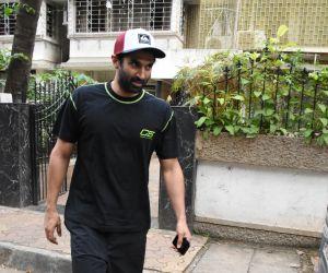 Actor Aditya Roy Kapoor Seen at Mohit Suri's office in bandra