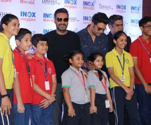 Actor Ajay Devgn Hosts Special Screening Of Tanhaji For School Children.