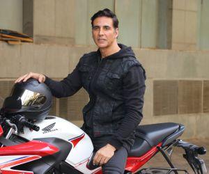 Actor Akshay kumar at the trailer launch of film Sooryavanshi