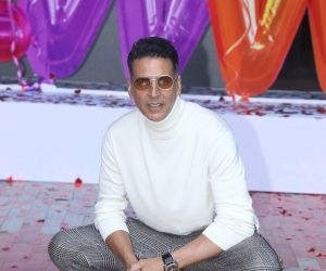 Actor Akshay Kumar in Trailer launch of New Film Good Newwz at Cinepolis