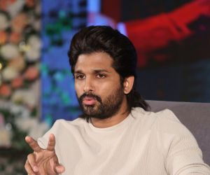 Actor Allu Arjun during the Photo Section.