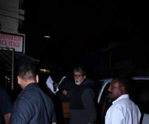 Actor Amitabh Bachchan seen at bandra.