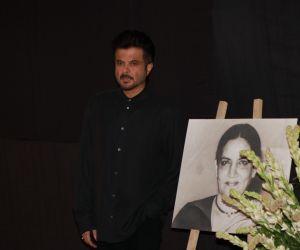 Actor Anil Kapoor Attend Prayers Meet of Shabana Azmi Mom.