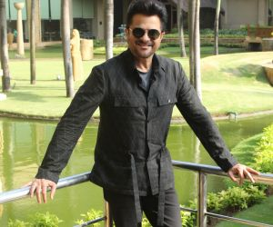 Actor Anil Kapoor During  his Movie Promotion Pagalpanti