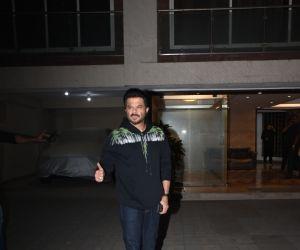 Actor Anil Kapoor in Malang cast at Aditya Roy Kapoor's home.