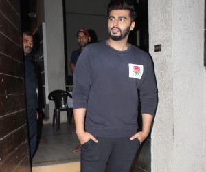 Actor  Arjun kapoor at Shashank Khaitan's birthday party