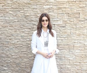 Actress Kriti Sanon Promotion of film Paanipat.