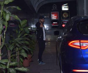 Actor Arjun Kapoor seen at gym in Khar.