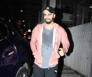 Actor Arjun Kapoor spotted at bandra.