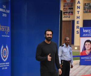 Actor Arjun Rampal at the annual day function of Dhirubhai Ambani International School.