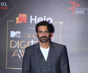 Actor Arjun Rampal in The Second Edition Of MTV IWMBuzz Digital Awards.
