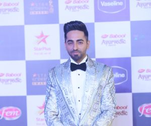 Actor Ayushmann Khurrana in Star Screen Awards at BKC.