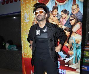 Actor Ayushmann kurrana at  Screening of Movie Shubh Mangal Zyada Savdhan
