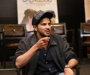 Actor Dulquer Salmaan during an Interview