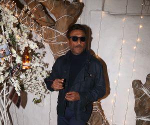 Actor Jackie shroff in Dabboo Ratnani calander at olive bandra