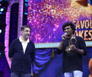 Actor Kamal Haasan in Zee Cine Awards Tamil 2020