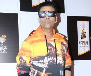 Actor Karan Johar at screening of movie Devi