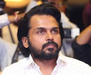 Actor Karthi in Donga Movie Pre-Release Event.