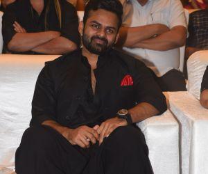 Actor Karthi in Event Meet of movie Prati Roju Pandage.
