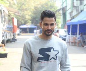 Actor Kunal Khemu seen at Film Location.