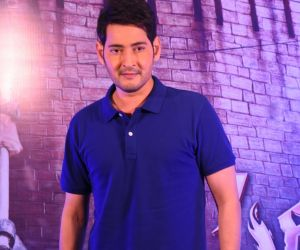Actor Mahesh Babu posses for Photo.