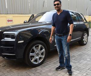 Actor Ajay Devgn New Film Tanhaji Trailer preview  at pvr juhu