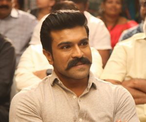 Actor Ram Charan at the book launch of Megastar The Legend