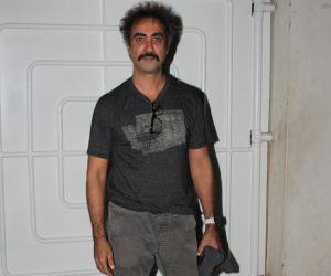 Actor Ranvir Shorey  attend screening of film Angrezi Medium at sunny sound juhu