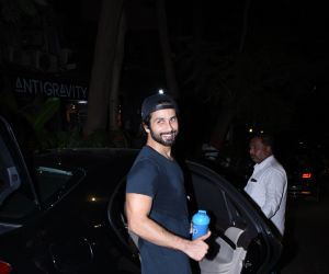 Actor Shahid Kapoor spotted at bandra.