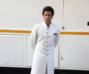 Actor Shahruk Khan Poses for Photo.