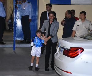 Actor Shahrukh Khan attend the annual day function of Dhirubhai Ambani International School.