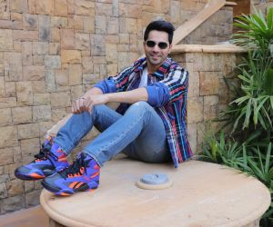 Actor Varun Dhawan at the Promotion of his film Street Dancer 3.