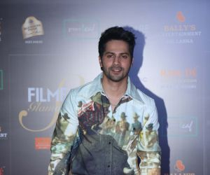 Actor Varun Dhawan in Filmfare Glamour And Style Awards 2019.