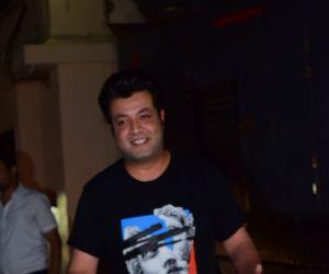 Actor Varun Sharma at screening of Angrezi Medium in pvr juhu - photos