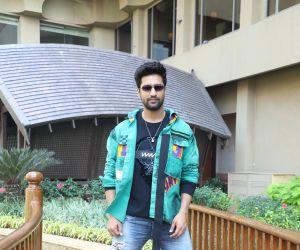 Actor vicki Kaushal promotion of film Bhoot at juhu hotel in Mumbai