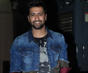 Actor Vicky Kaushal at Screening of film Bhoot the Haunted Ship