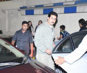 ActorAbhishek Bachchan at the annual day function of Dhirubhai Ambani International School.