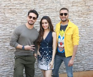 Actors for the promotions of their film Baaghi 3 at Sun n Sand in juhu