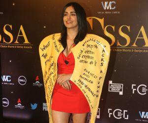 Actress Adah Sharma in Critic's Choice Awards at Taj Santacruz.
