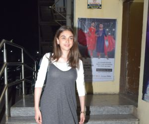 Actress Aditi Rao Hydari spotted at pvr juhu