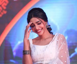 Actress Aishwarya Lekshmi seen Film Event