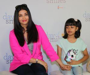 Actress Aishwarya Rai Celebrates 'Day Of Smile' On her Late Father's Birthday.