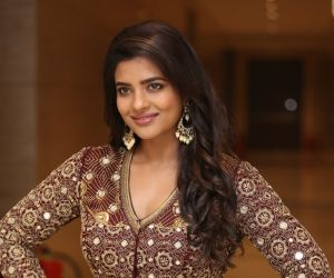 Actress Aishwarya Rajesh During the Photoshoot