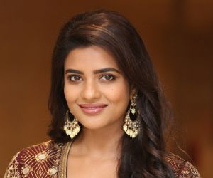 Actress Aishwarya Rajesh During the Photo Section