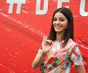 Actress  Ananya Panday at Lakme Fashion Week 2020