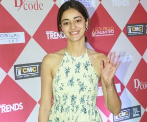 Actress Ananya panday at the Dcode luxury expo