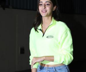 Actress Ananya Pandey at Screening of film Bhoot the Haunted Ship