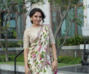 Actress Andrea Jeremiah beautiful saree look photo