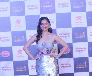 Actress Ankita Lokhande in Star Screen Awards at BKC.